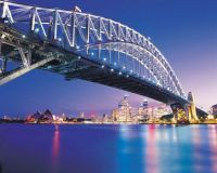 beautiful bridge in Sidney