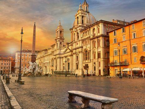 Sunset, Piazza Navona