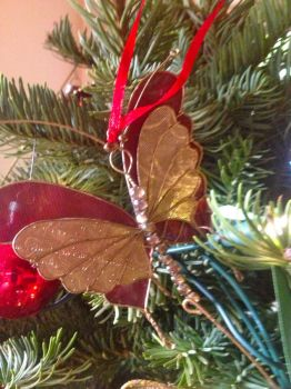 Xmas butterfly