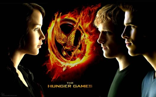 The Hunger Games Trio