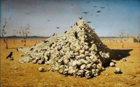 Vasily Vereshchagin. The Apotheosis of War. 1871