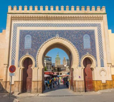 The Blue Gate, Fez, Morocco