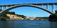 Bridge over Douro River, Porto, Portugal