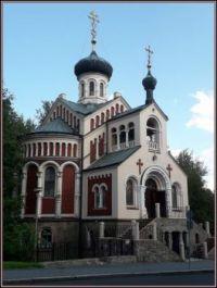Pravoslavný kostel sv. Vladimíra, Mariánské Lázně