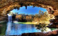 Amazing Waterfalls:  Hamilton Pool Preserve, Texas