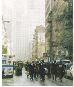 In the days after 9/11 my brother and his family of EMT's took the ambulance on the left to NYC