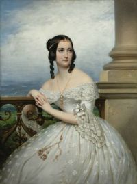 PRESUMED PORTRAIT OF MISS WHITE