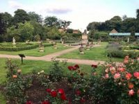 Walled Garden Lower Sunbury. England.