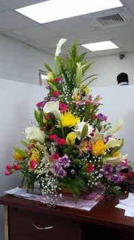 Happiness is.... A Gorgeous Tall Arrangement.