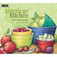 ANG 2017 Wall Calendar American Kitchen