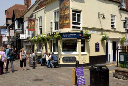 The Cricketers, Canterbury, Kent.  Photo by Stephen McKay