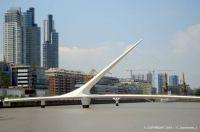 ARGENTINA – Buenos Aires – Puente de la Mujer in Puerto Madero