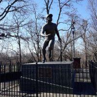 Roberto Clemente Statue, Newark, NJ