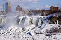 Niagara Falls - Bridal Veil Falls, American Side - Frozen - Winter 2013-2014