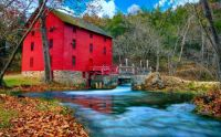 Red mill fall