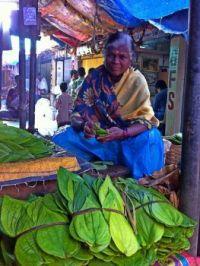 At the Devraja Market in Mysore, India