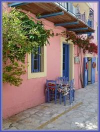 Traditional House on Fiskardo, Kefalonia, Ionian Islands, Ελλάδα (Greece)
