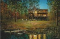 Lake Side Retreat by Jim Hansel