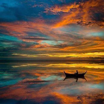 Peaceful solitude