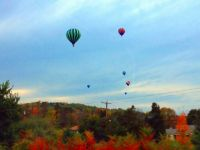 Balloons over NJ in October