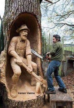 Wood carving :-)