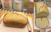 Making Kossamu's bread: Try #3 - the bread machine