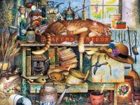 Cat tales by Charles Wysocki