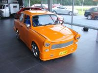 A Trabant is made in the DDR