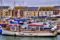 Colourful Harbour, Weymouth