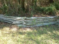 "THEME: ""Fences""  Wood fence at McCulley's Farm in Jasper, FL.   We are camping there again this weekend."