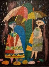 Figures In The Rain
