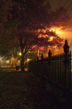 Halloween in Salem Massachusetts