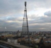 Radio broadcasting tower, Moscow