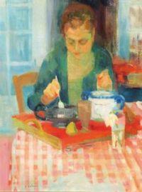 Le Petit Déjeuner - Paul Collomb French, 1921-2010