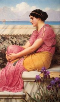John Godward - absence makes the heart grow fonder, 1912