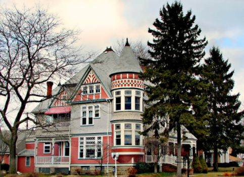 Huge historic home, St. Clair, MI
