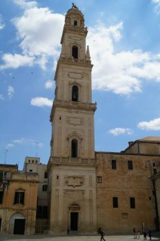 Bell tower, Lecce Cathedral