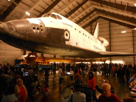 Endeavour at the Science Museum, L.A. CA