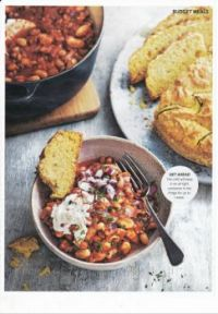 Food recipes 103- Chilli & bread (image only)