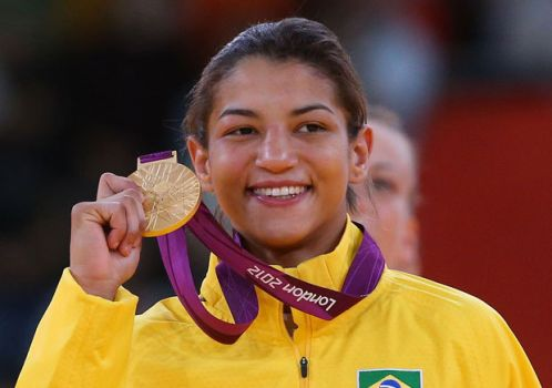 Golden Medal - Sarah Menezes First Brazilian Woman in Judo to got it