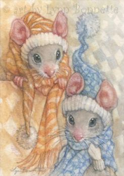 Winter Mouse Fashions