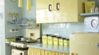 Vintage Kitchen in Pale Colors