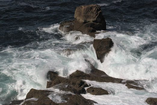 Rough sea, Lands End, Cornwall.