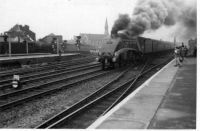 A4 at Doncaster 1950's