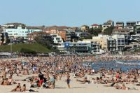 Bondi Beach Friday afternoon