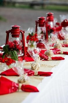 Red lantern decorations