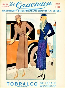 Themes Vintage ads - Tobralco fabric