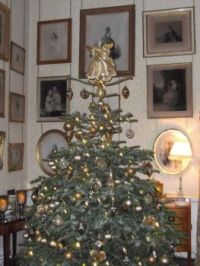 Christmas tree in Castle Howard (2015)