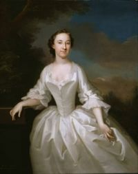 John Wollaston Portrait of Lucy Parry, Wife of Admiral Parry 1745-49