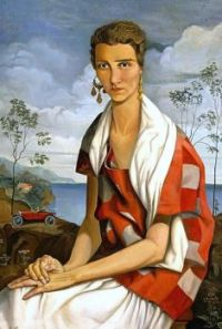 Peggy Guggenheim Portrait, 1926. ALFRED COURMES, 1898-1993.